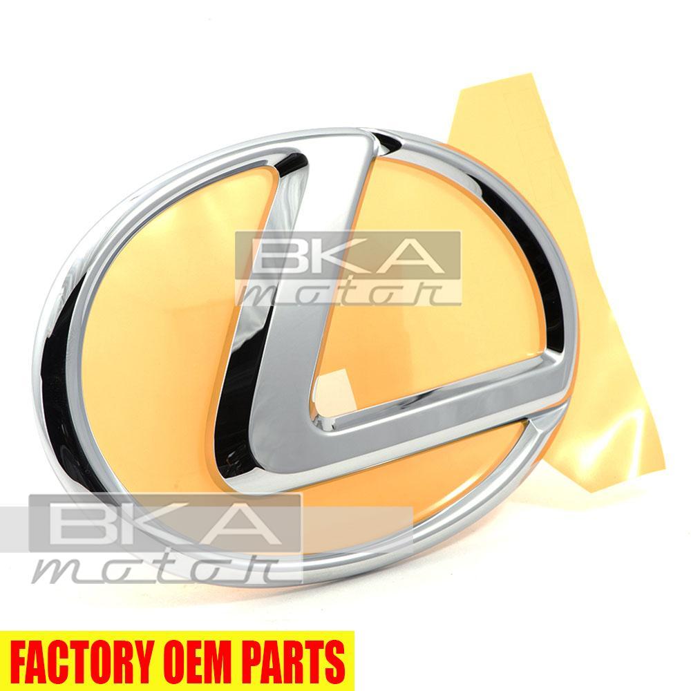 New Lexus Original Front Grille Emblem 90975-02082 75311-0E020 LS460 GX460 RX350