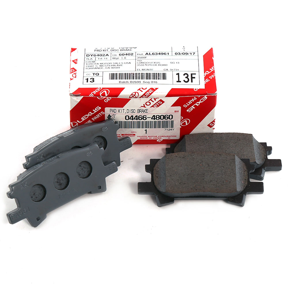 Toyota Brake Pads >> Details About New Factory Lexus Rear Genuine Toyota Brake Pad Set 04466 48060 Rx350 Highlander